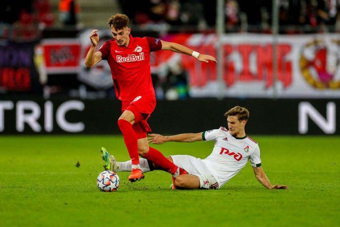 «Локомотив» принимает австрийский «Зальцбург» в матче Лиги чемпионов