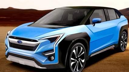 Subaru готовит к премьере свой первый электрический кроссовер