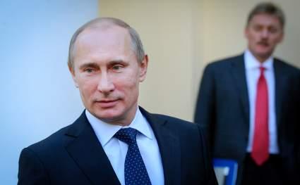 Дмитрий Песков рассказал, когда Путин привьется от коронавируса