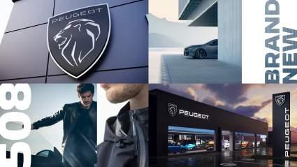 Peugeot обновила свой фирменный логотип льва