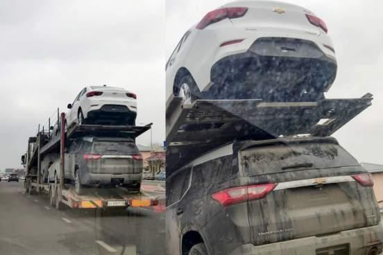 В Узбекистане сфотографировали новый бюджетный седан Chevrolet Onix