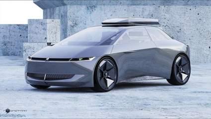 Дизайнеры представили рендеры возрожденной Lada Sputnik