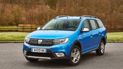 Универсал Dacia Logan нового поколения впервые засняли на тестах