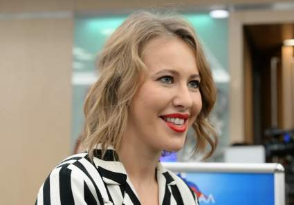Телеведущая Ксения Собчак предложила выдать ей орден после награждения ЮрКисса