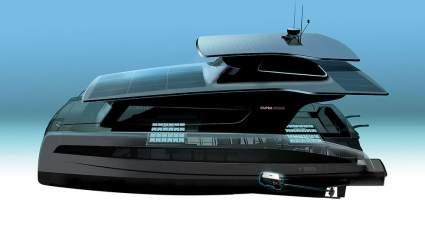 Volkswagen создаст новую яхту на основе платформы MEB