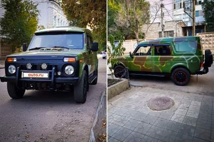 В Астрахани продают «Ниву» с необычным интерьером за 4 млн рублей
