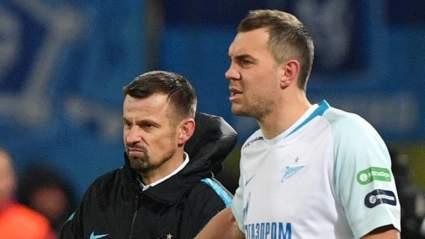 "Тренер ""Зенита"" Семак оценил состояние Дзюбы и Лунева"