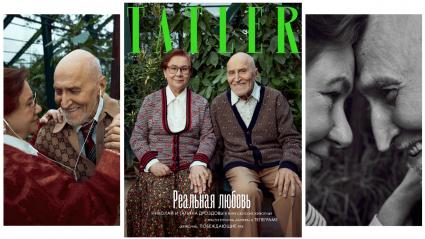 На обложке глянцевого журнала Tatler появился Николай Дроздов вместе с женой