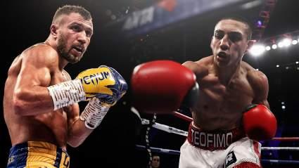 Украинский боксёр Усик считает, что судьи ограбили Ломаченко в бою с Теофимо Лопесом