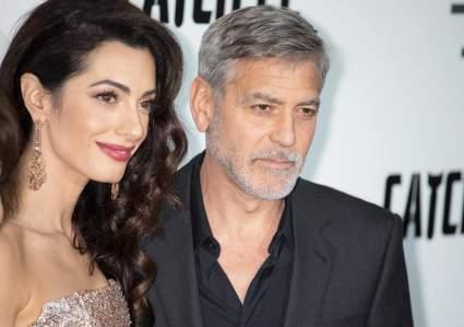 Джордж Клуни признался, что боится свою жену Амаль