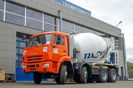 Автоконцерн «КАМАЗ» запустил производство автобетоносмесители с приводом от шасси