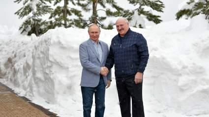Путин – Лукашенко: Хочу пригласить вас прокатиться на лыжах