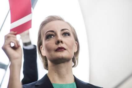 В Москве и Санкт-Петербурге прошел митинг в поддержку Юлии Навальной