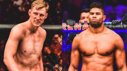 Бойцы UFC ставят против россиянина Александра Волкова в бою с Алистаром Оверимом