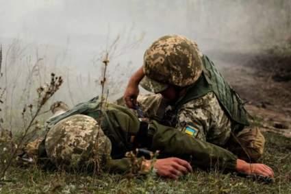 Трое солдат из Украины подорвались в Донбассе