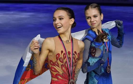 Тарасова объяснила отсутствие Трусовой и Шербаковой в составе участниц Кубка России