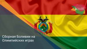 Сборная Боливии на Олимпийских играх