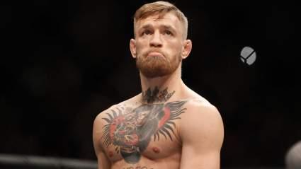Конор Макгрегор опустился на 6-е место в рейтинге легкого веса UFC