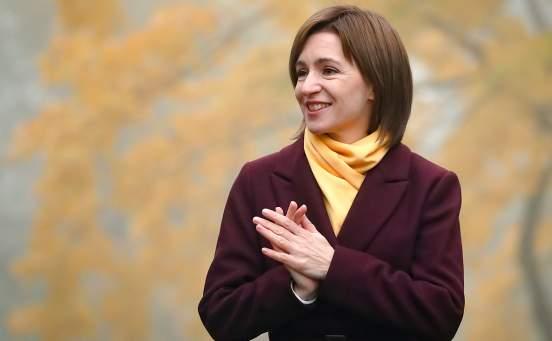 Майя Санду выступила за стратегическое сотрудничество Молдавии и Украины
