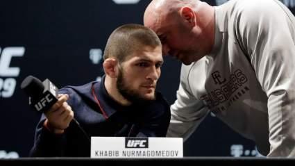 Глава UFC Дана Уайт хочет, чтобы Хабиб провел еще десять боев