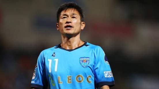 «Йокогама» продлила контракт на один сезон с 53-летним Кадзуйоси Миурой