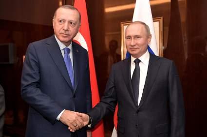 Путин и Эрдоган обсудили совместное производство вакцин от COVID-19 и Карабах