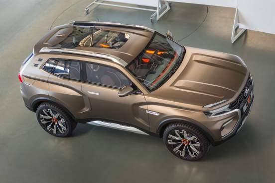 Новая Lada Niva стала примером для дизайнеров компании Hummer в США