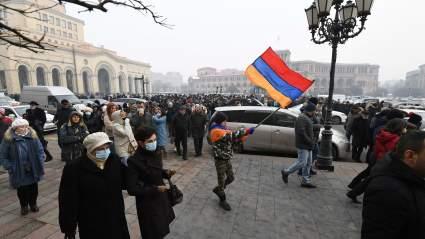 В Ереване началась акция протеста с требованием отставки премьер-министра Пашиняна
