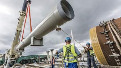 США угрожают санкциями Западу из-за газопровода «Северный поток-2»