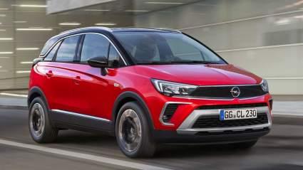 Новый кроссовер Opel Crossland появится в России в первом квартале 2021 года