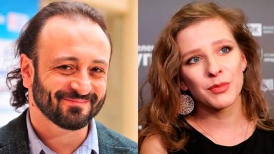 Илья Авербух и актриса Лиза Арзамасова в свадебных нарядах поздравили россиян с Новым годом