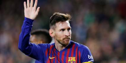 Месси дисквалифицирован на два матча за нарушение в финале Суперкубка Испании
