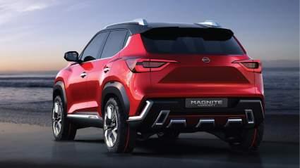 Кроссовер Nissan Magnite получил 4 звезды в проверке на безопасность