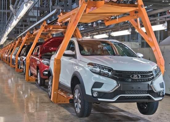 АвтоВАЗ снизил на 5% реализацию автомобилей в 2020 году