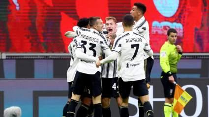 «Ювентус» обыграл «Милан» в матче Чемпионата Италии