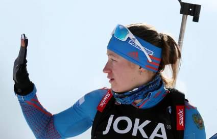 Российская биатлонистка так и не стала гражданкой Словении