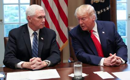 Трамп и Пенс провели переговоры после беспорядков в Вашингтоне