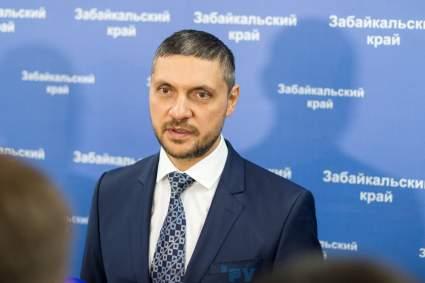 Губернатора Забайкальского края Осипова госпитализировали с коронавирусом
