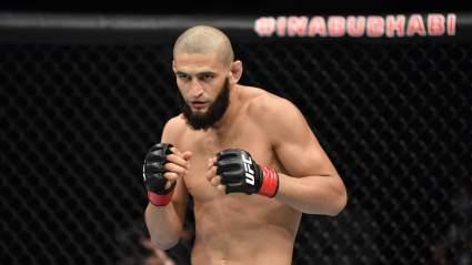 Хамзат Чимаев о своей цели в UFC: Заберу пояс в полусреднем весе