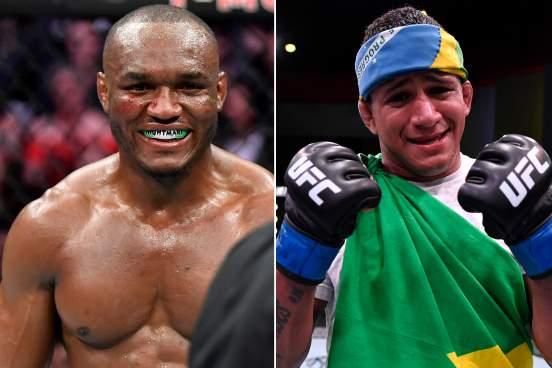 Камару Усман и Гилберт Бернс проведут бой 13 февраля на турнире UFC 258