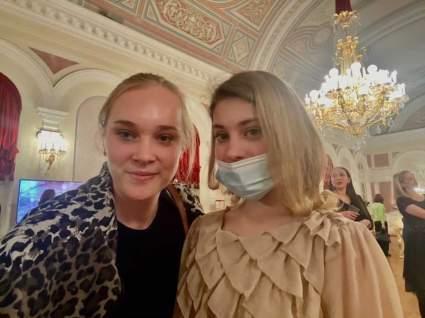 Фигуристка Косторная посетила балет «Баядерка»