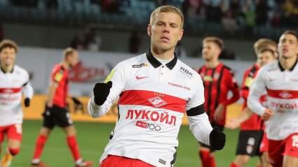 Александр Кокорин эмоционально попрощался со «Спартаком»