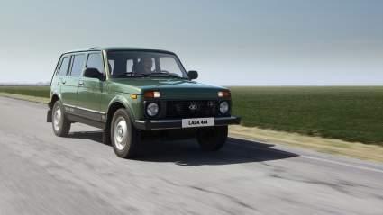 Внедорожник Lada 4x4 получил имя Lada Niva Legend