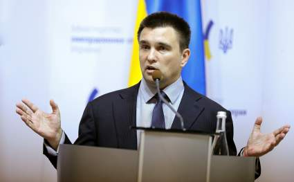 Украинский политик Климкин забеспокоился из-за российского Крыма на картах в мировых СМИ