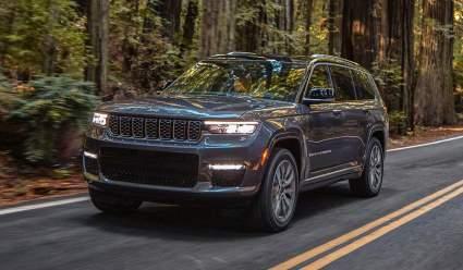 Вчера: Марка Jeep представила обновленный внедорожник Grand Cherokee L