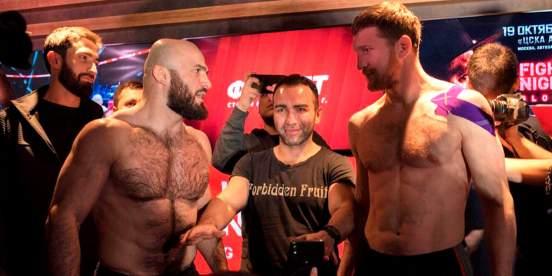 Гаджиев предпочитает реванш Исмаилова с Минеевым вместо боя со Шлеменко