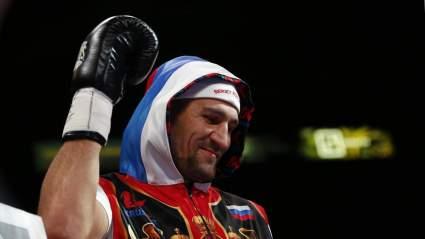 Сергей Ковалев провалил допинг-тест перед боем с Меликузиевым