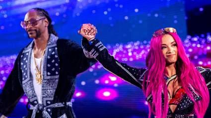 Саша Бэнкс оценила сплэш Снуп Догга на праздничном реслинг-шоу Dynamite New Year's Smash