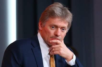 В Кремле отреагировали на первые заявления Белого дома после инаугурации Джо Байдена