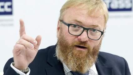 Депутат Милонов отреагировал на секс-скандал с участием Цискаридзе